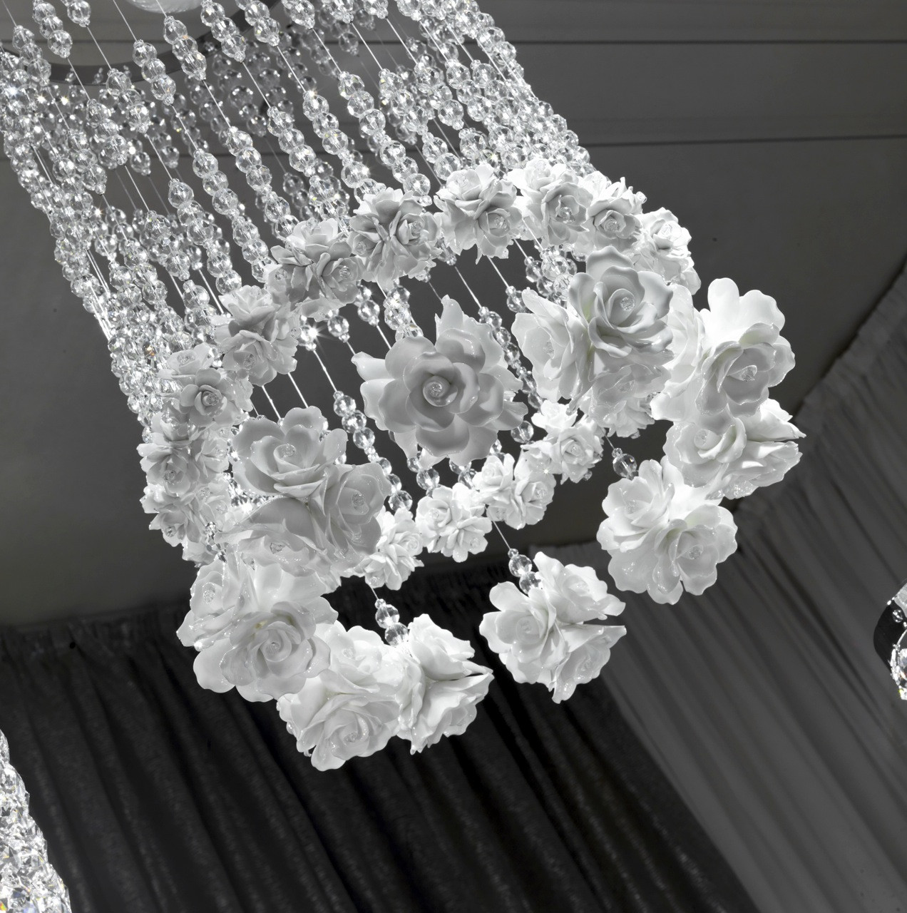 RAINDROPS AND ROSES CHANDELIER