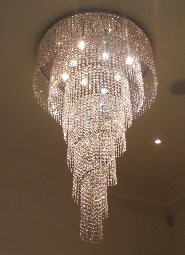BESPOKE SPIRAL LIGHT SCULPTURE - SPIRAL LIGHT SCULPTURES - LIGHTING for Ceiling Light Sculpture  565ane