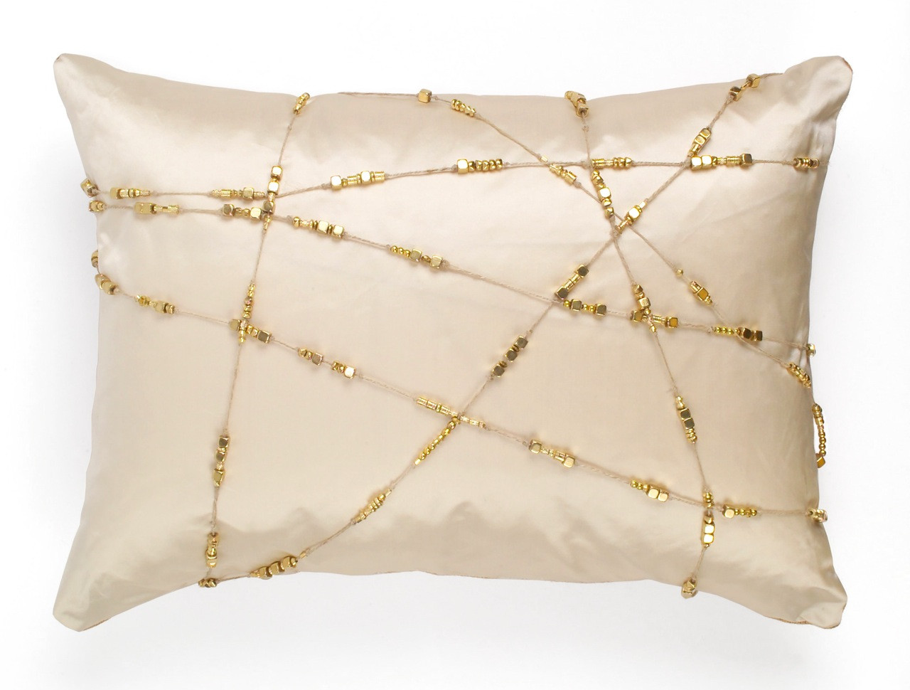 BRASS DIAMOND CUSHION