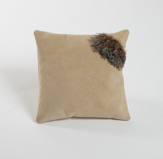 FEATHER INSET CUSHION