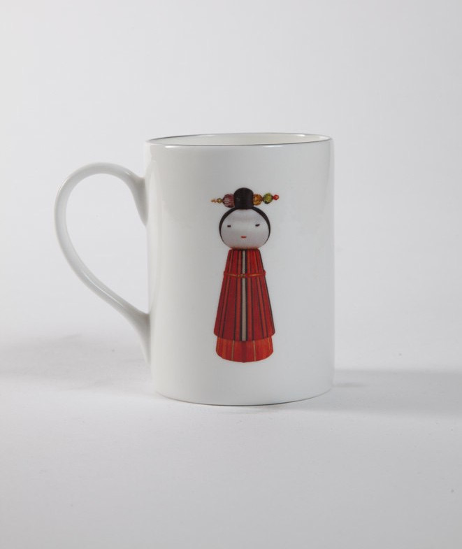 KOKESHI COFFEE CUP