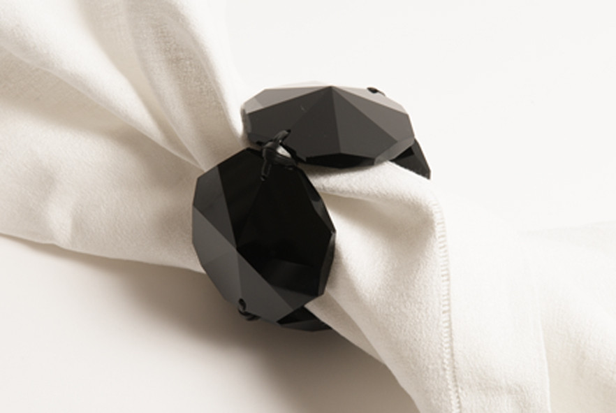 JET CRYSTAL NAPKIN HOLDER