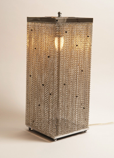 JEWELLED CHAIN TABLE LAMP