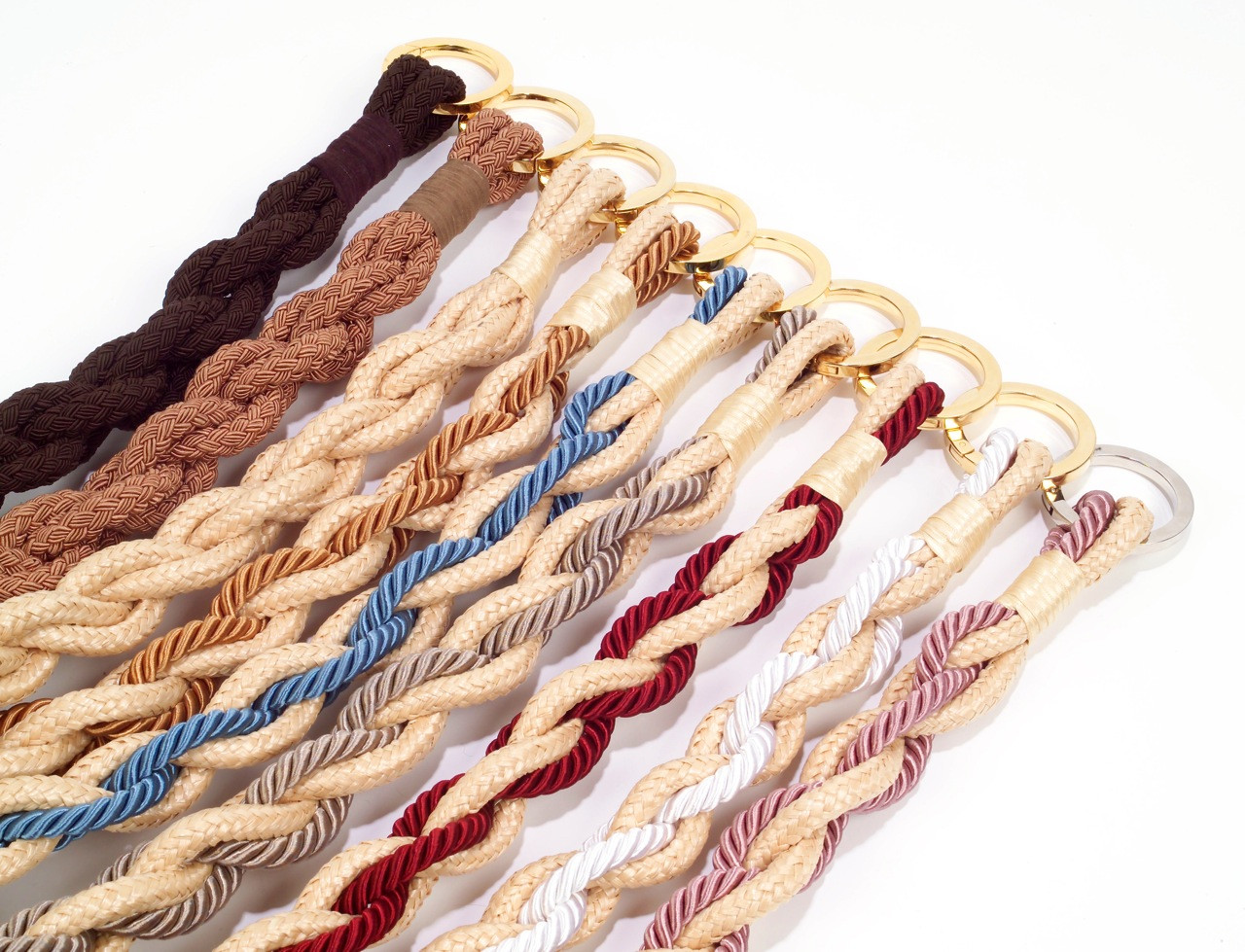 RAFFIA TRICOT CORD TIE-BANDS IN ASSORTED COLOURWAYS