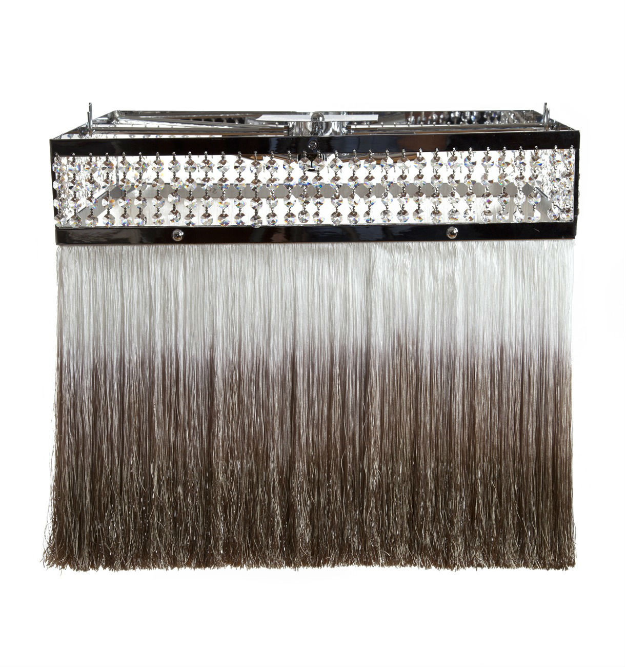 CHIARO SCURO RECTANGULAR CRYSTAL CHANDELIER