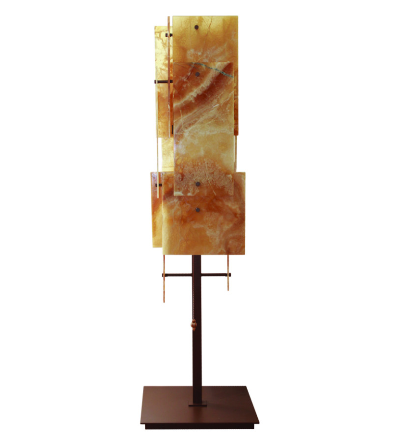 OPALESCENT FLOOR LAMP