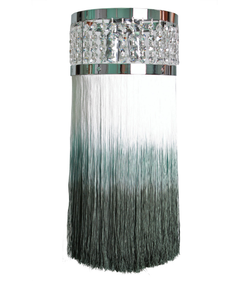 SOFT AQUA MINI CHIARO SCURO CRYSTAL CHANDELIER