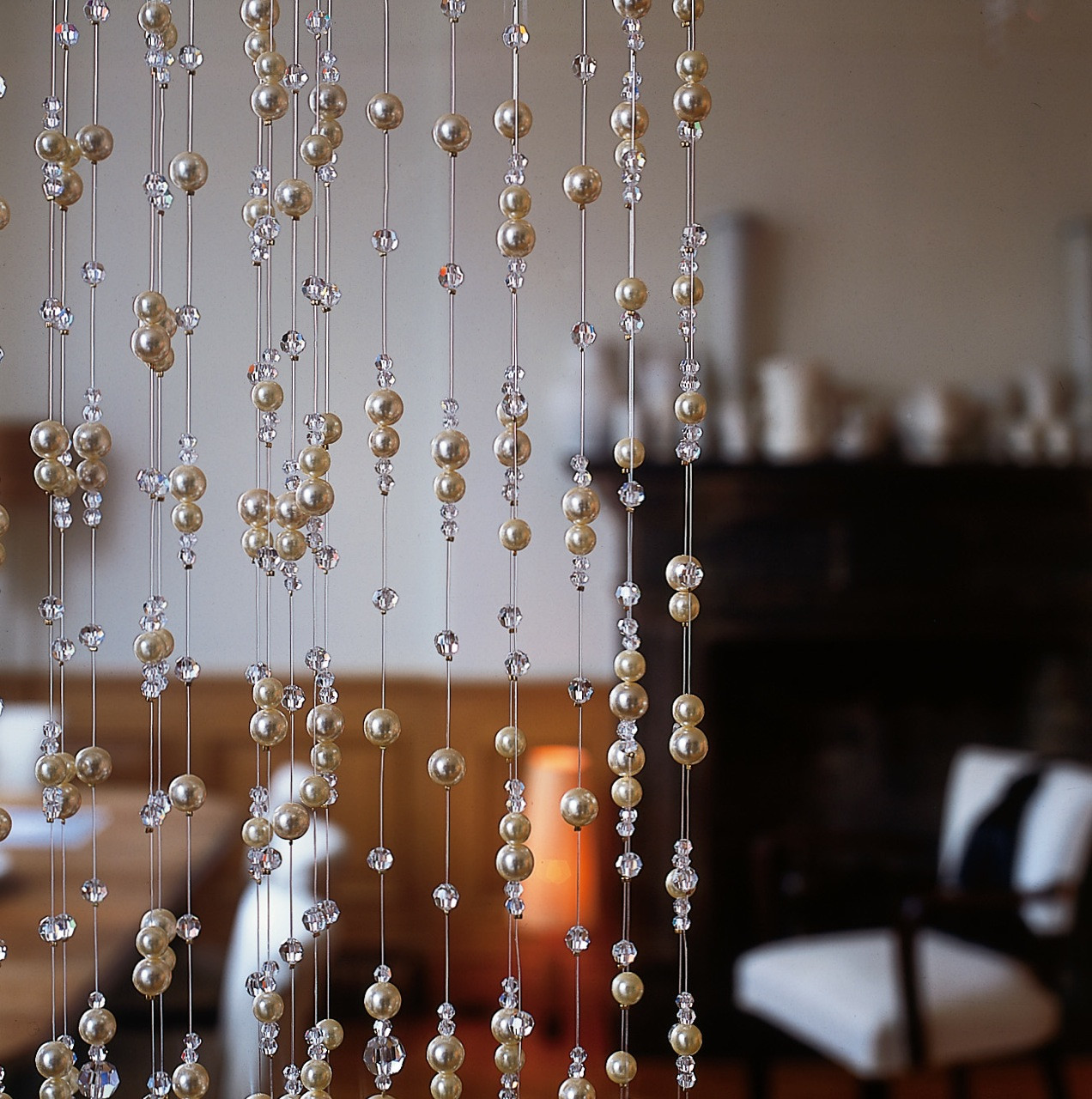 PEARL AND CRYSTAL ROOM DIVIDER