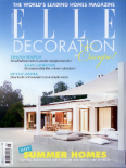 ELLE DECORATION - AUGUST 2013